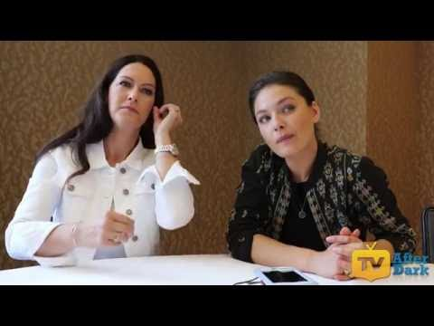 Isa Dick Hackett & Alexa Davalos of The Man in the High Castle at SDCC 2016