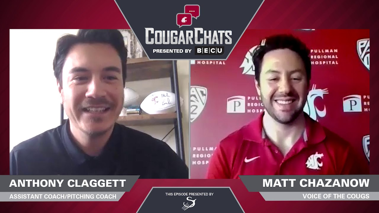 Image for WSU Athletics: Cougar Chats with Coach Anthony Claggett webinar