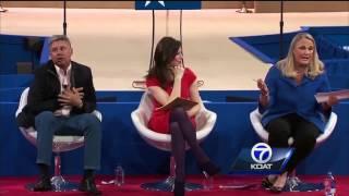 Former NM governor fakes heart attack at pot debate thumbnail