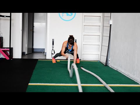 Battling Ropes Exercises 22 Battling Ropes Moves and 5 Workouts