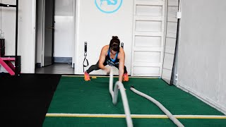 Battling Ropes Exercises - 22 Battling Ropes Moves and 5 Workouts