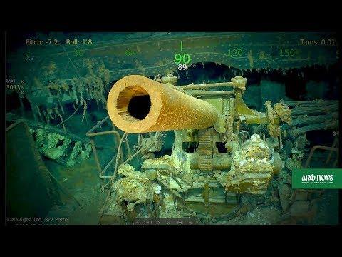 Wreckage of WWII aircraft carrier USS Lexington found