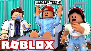 I HATE THE DENTIST!- ROBLOX ESCAPE THE DENTIST OBBY