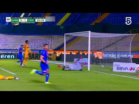 Gol de J. Escobar | Tigres 0 - 1 Cruz Azul | Liga MX - Guardianes 2020 Apertura  | LIGA BBVA MX