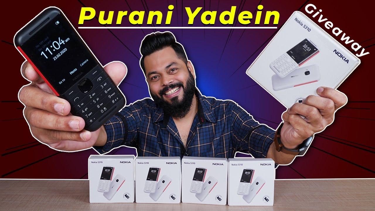 Nokia 5310 2020 Unboxing & First Impressions ⚡⚡⚡ Purani Yaadein Taaza Ho Gayi (4x Giveaway)