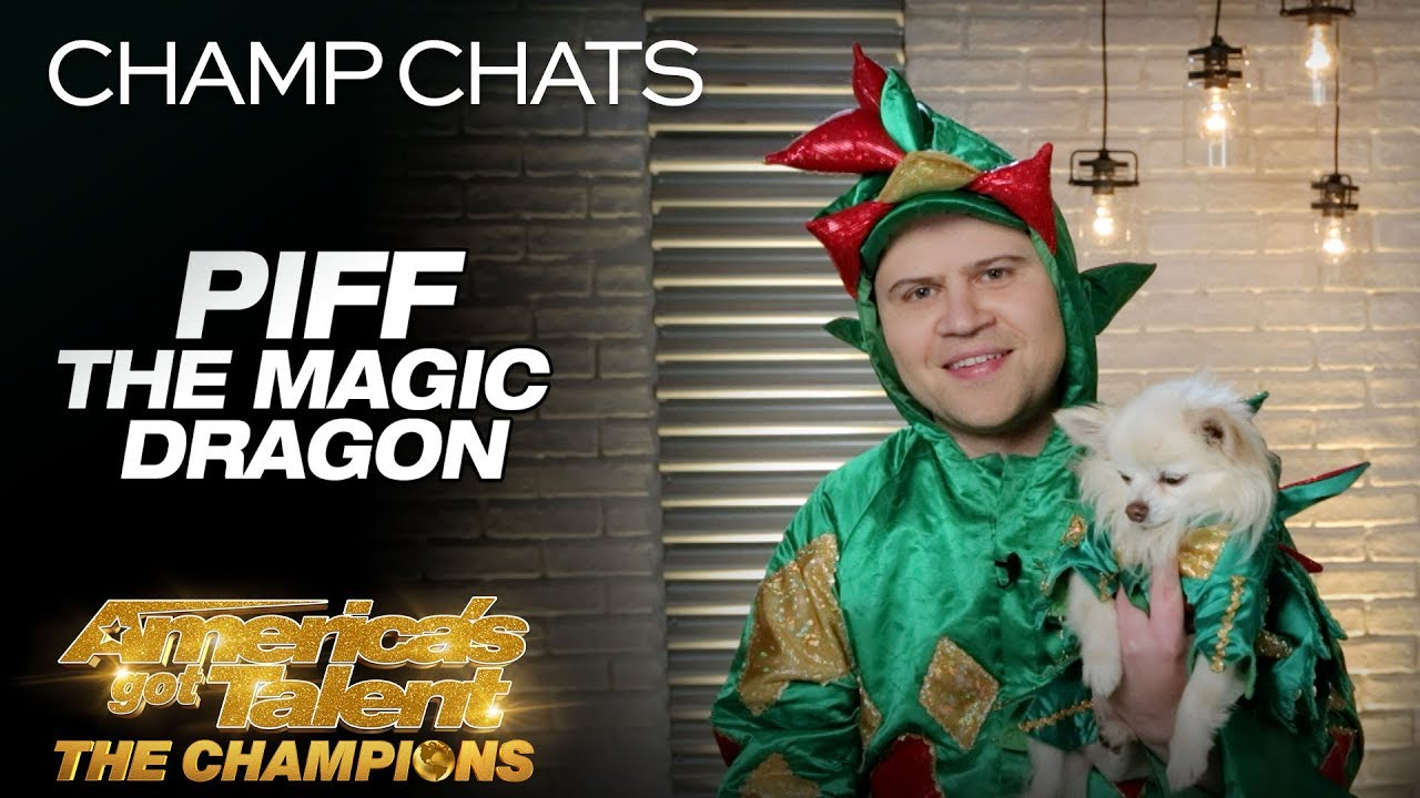Piff The Magic Dragon Recalls Heidi's Reaction To Mr. Piffles - America's Got Talent: The Champions