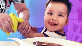 Готовим Сладкую Пиццу | С Бабушкой и Дедушкой Алима
