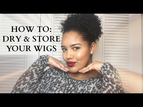 How To: Dry & Store Your Wigs feat. Wigmate