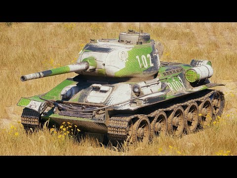 World of Tanks T-34-85 Rudy - 6 Kills 4,9K Damage thumbnail
