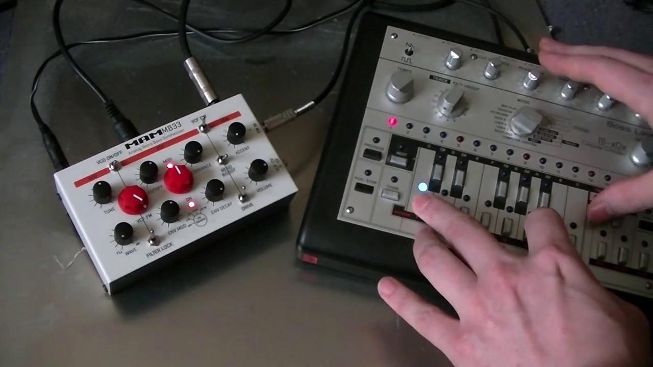 Circuitbenders - MAM MB33 Retro Modifications