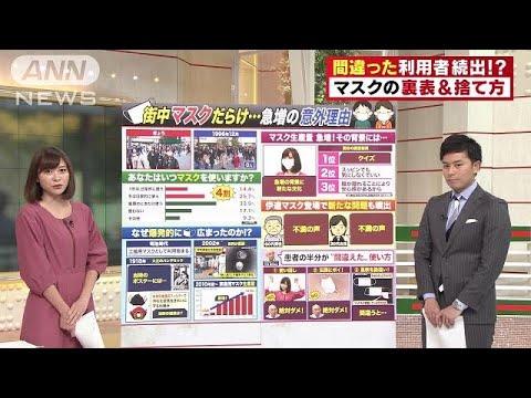 きっかけはSARS!? マスクが日本で広まった理由(18/11/20)