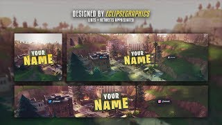 *FREE GFX* | Insane Fortnite Battle Royale Channel Revamp Template *NEW* | Free Download