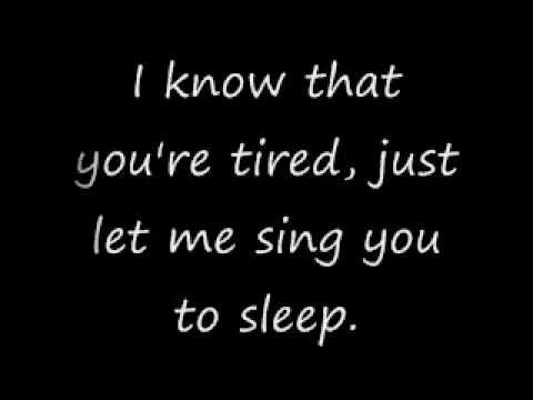 The Spill canvas- Lullaby (Lyrics)