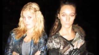Eliza Taylor & Alycia Debnam-Carey (Elycia)