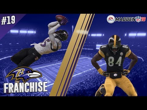 Shaking Things Up | @ Steelers (S1,G13) | Madden NFL 18 Baltimore Ravens Franchise Ep. 19