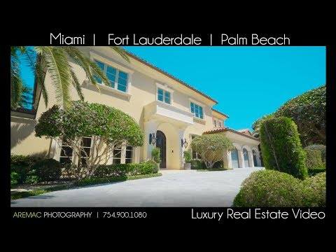 Luxury Real Estate Video Company, Fort Lauderdale, Miami, Palm Beach