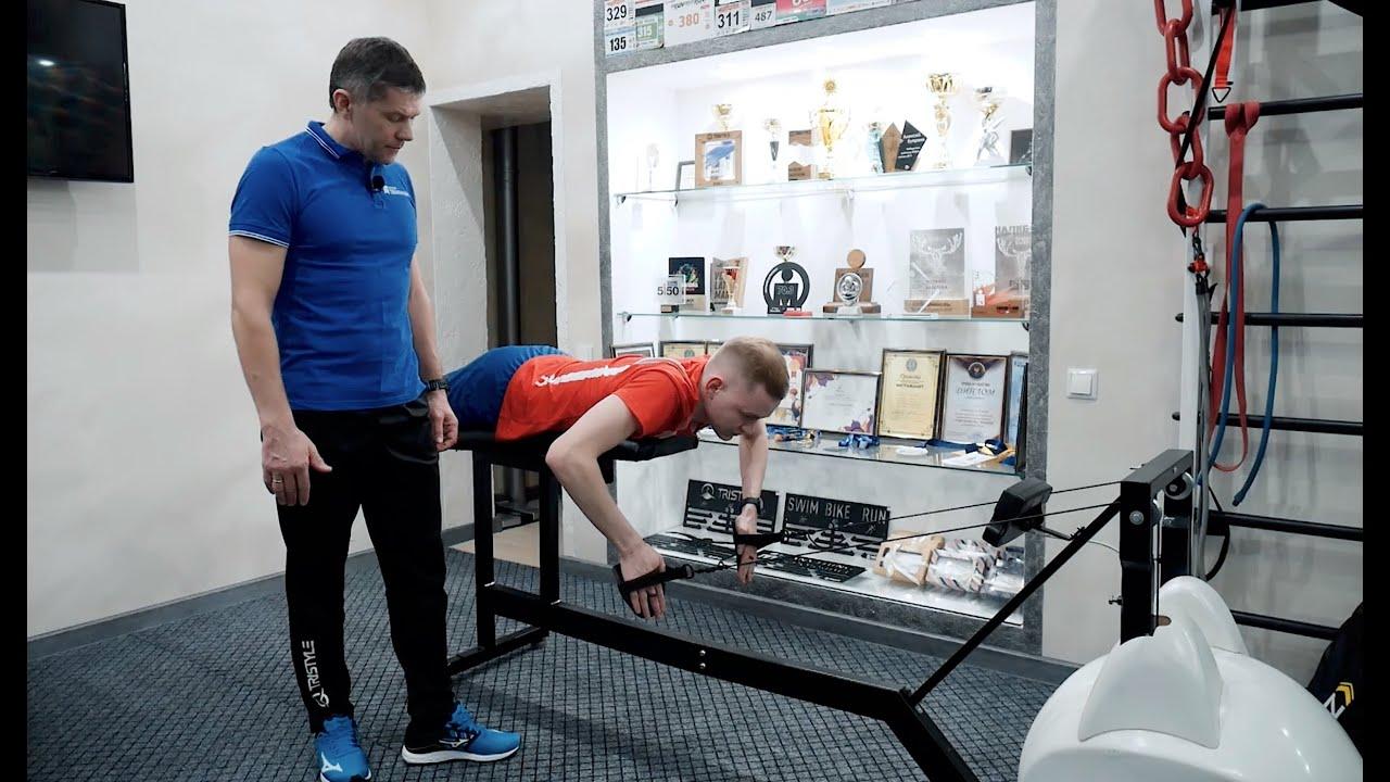 Техника плавания кролем, плавание в триатлоне. Совместно с МТС triathlon team.