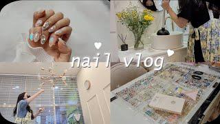 nail vlog | 20대 사장님 브이로그 (네일샵 …