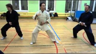 Тайцзи 40 форма Чэнь. Урок 3-й,часть 2-я