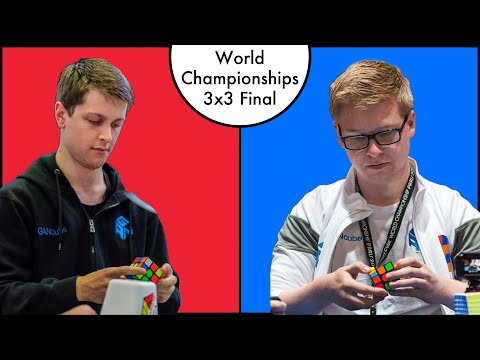 WCA World Championships 2019 3x3 Finals! | Live Reaction!