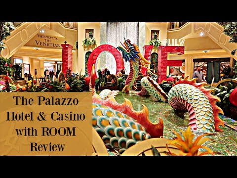 The Palazzo Hotel & Casino + Room Review!