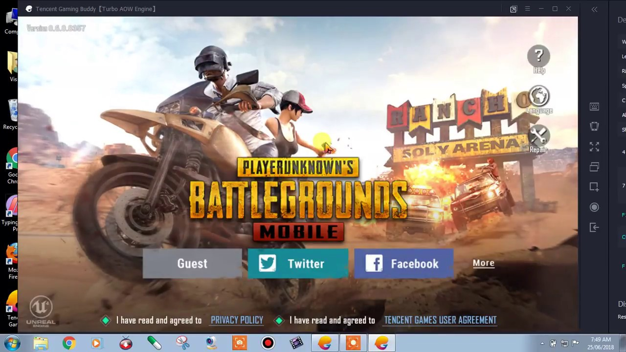Pubg Mobile is not getting connected with Facebook or any ...