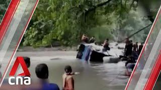 Bus crash in South Sumatra kills 25, injures 14