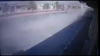 فيديو.. حادث سير مروع يودي بحياة شاب عشريني