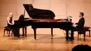 Kyle Landry & Lara De Wit: Mario Theme Song (Live) - Impromtu