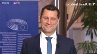 Steven Woolfe is calm in face of Britain hating Yasmin Alibhai-Brown