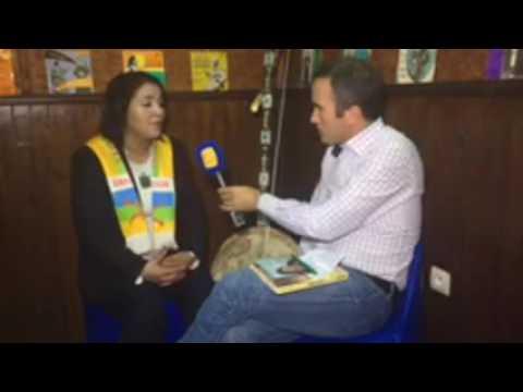 En Direct d'Agadir avec la diva Amazighe Fatima Tabaamrant