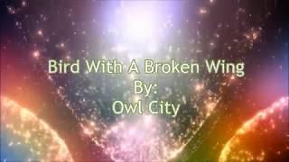 Owl City Bird With A Broken Wing (Lyric Video)