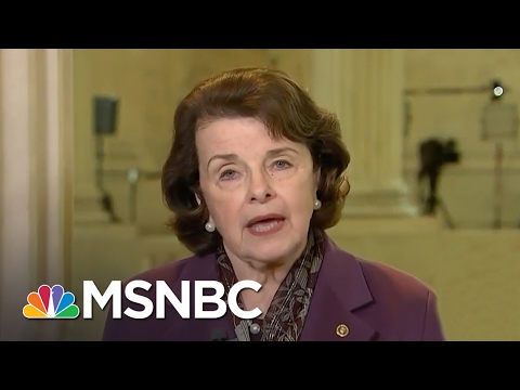 Dianne Feinstein: Jeff Sessions Is Wrong Man For The Time | Andrea Mitchell | MSNBC