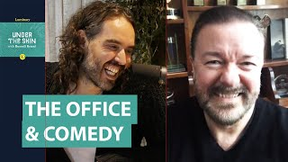 Ricky Gervais & Russell Brand Chat The Office, Comedy & Class!