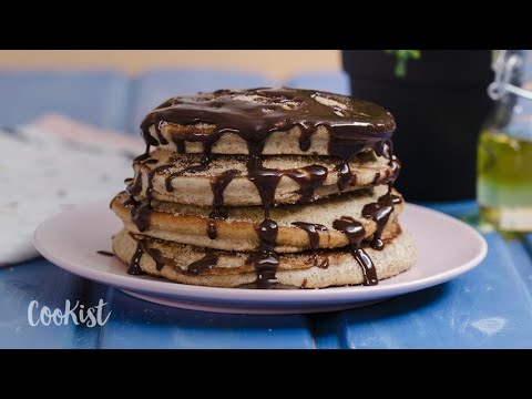Churro Pancakes: Fluffy, Soft And Super Easy To Make!