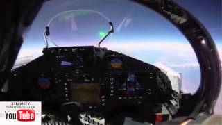 Eurofighter Typhoon 2014 HD - Flight Wales & Lake District - Cockpit View