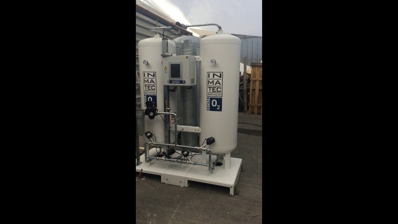 Oxygen Generator System With Oil Free Air Compressor