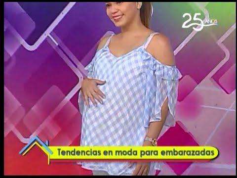 Tendencias en moda para embarazadas