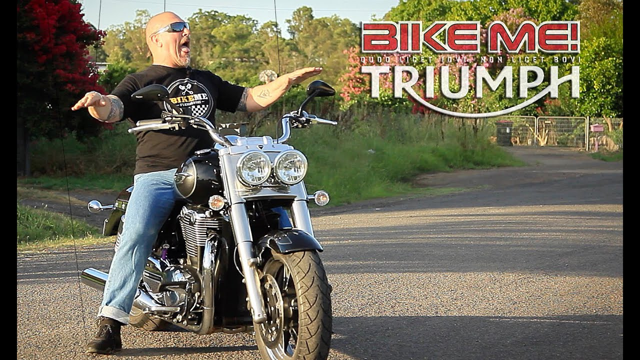 Triumph Thunderbird Commander Review Bike Me Youtube