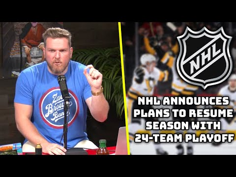 Pat McAfee Reacts To The NHL's Official Return