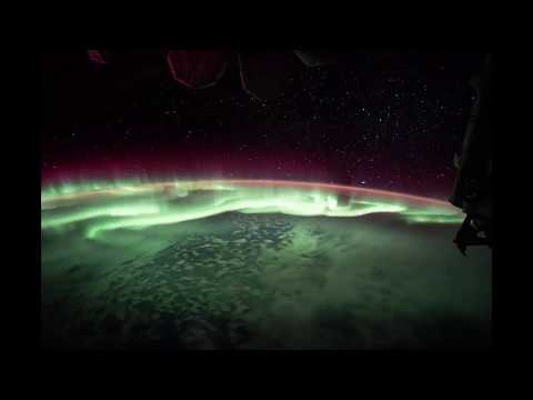 Earth's Own Light Show Seen from the Space Station | Video