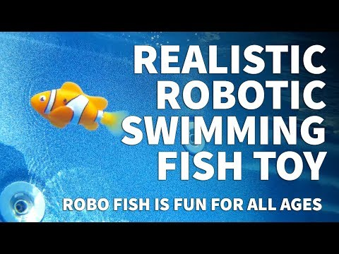 Zuru Robo Fish – Realistic Robotic Fish Toy – Water Activated Fish Swims Underwater