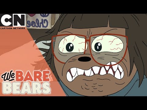 We Bear Bears | Angry Werebear Child | Cartoon Network