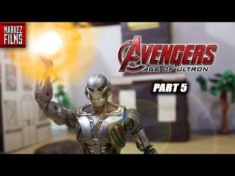 Avengers Age Of Ultron Stop Motion Film part 5