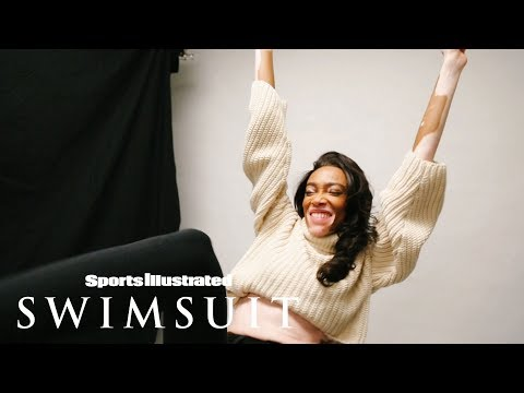 Winnie Harlow Is the Newest 2019 Rookie | CANDIDS | Sports Illustrated Swimsuit