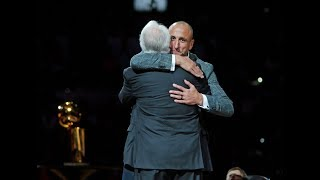Gregg Popovich Says Spurs Would Not Have Won Any Titles Without Manu Ginobili