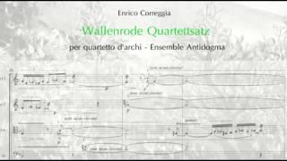 Wallenrode Quartettsatz per quartetto d'archi