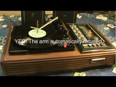 Garrard Electrophonic Turntable How to Repair Garrard Electrophonic  Turntable
