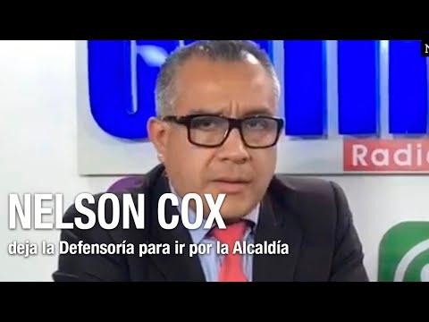 Nelson Cox deja el cargo defensorial para ser candidato a alcalde