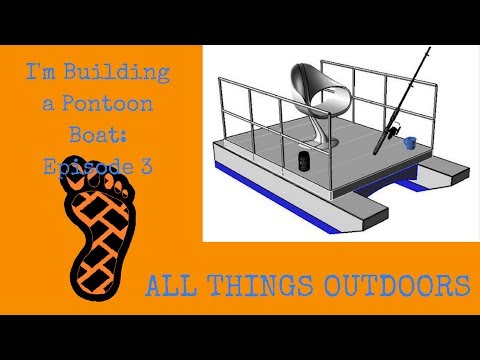I'm Building a Mini Pontoon Boat: Episode 3 - Assembling the Deck